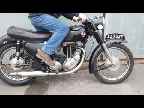 1957 Matchless G80s Start up