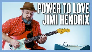 Jimi Hendrix Power to Love (Power of Soul) Guitar Lesson (Essential Hendrix Licks)