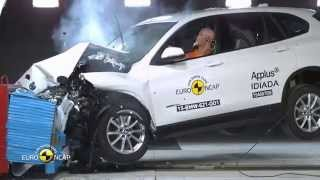 Euro NCAP Crash Test of BMW X1 2015