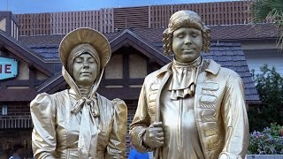 Living Statues - DISNEY SPRINGS Live Entertainment - Walt Disney World