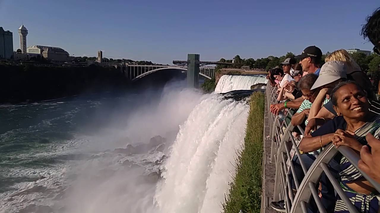 Niagara Falls By The New York Side Beautiful