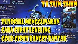 CARA MENGGUNAKAN DAN CARA CEPAT LEVELING YI SUN SHINYSS, MID LANER KALAH !! - Mobile Legends
