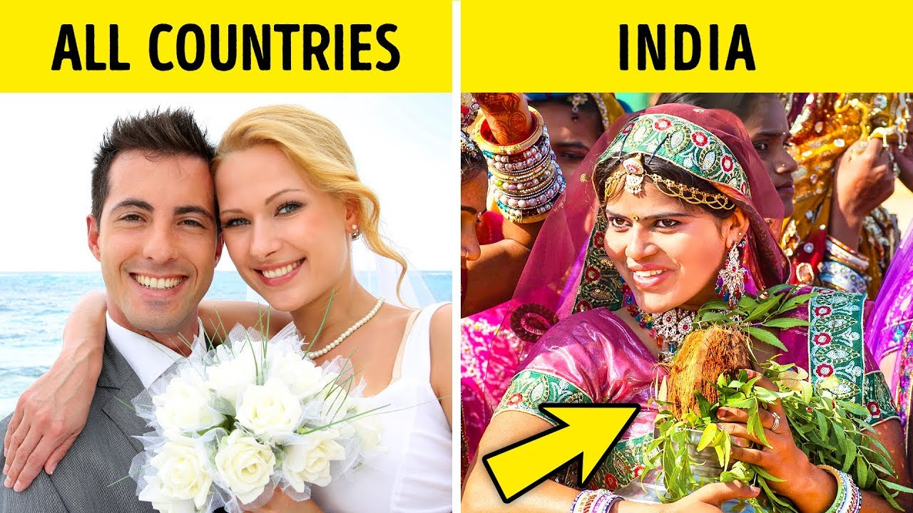 The Weirdest Wedding Traditions In The World: 12 Strange Wedding Traditions That'll Stun You