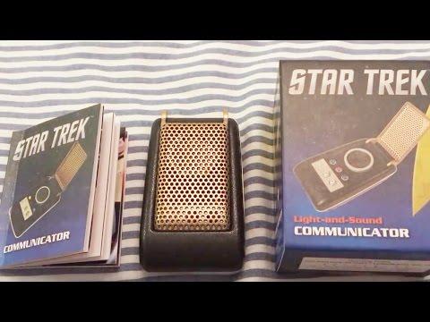 ASMR Star Trek Communicator Unboxing