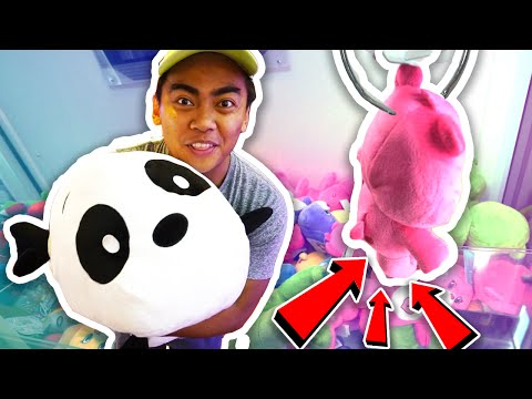 How To Hack Arcade Claw Machines | 100% WIN RATE | Arcade Ha