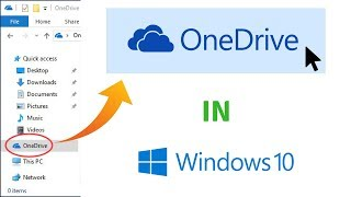 what is OneDrive in Windows 10  how to use onedrive tutorial 2019
