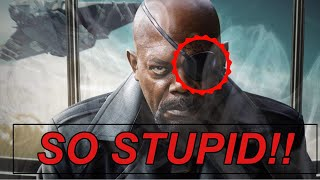 HOW NICK FURY LOSES HIS EYE IS STUPID