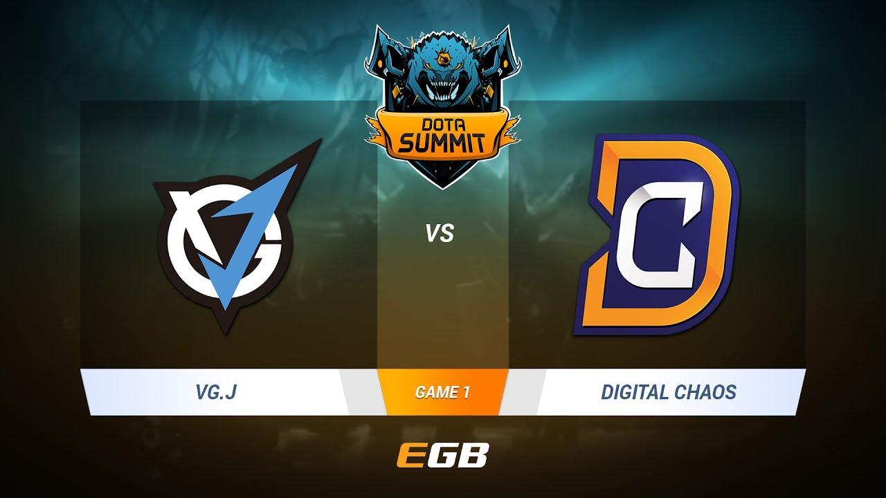 VG.J vs Digital Chaos, Game 1, DOTA Summit 7 LAN-Final, Day 3