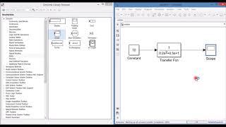 тАУ. Matlab/Simulink - моделирование передаточной функции, снятие характеристик