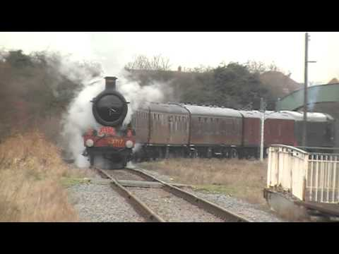 Great Central Railway Nottingham Santa Specials, featuring 3717