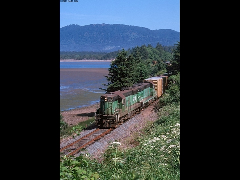 Port of Tillamook Bay Railroad, June, 2003