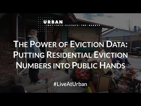 The Power of Eviction Data: Putting Residential Instability Numbers into Public Hands