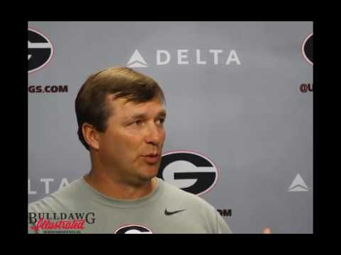 Kirby Smart – Offensive Line Update