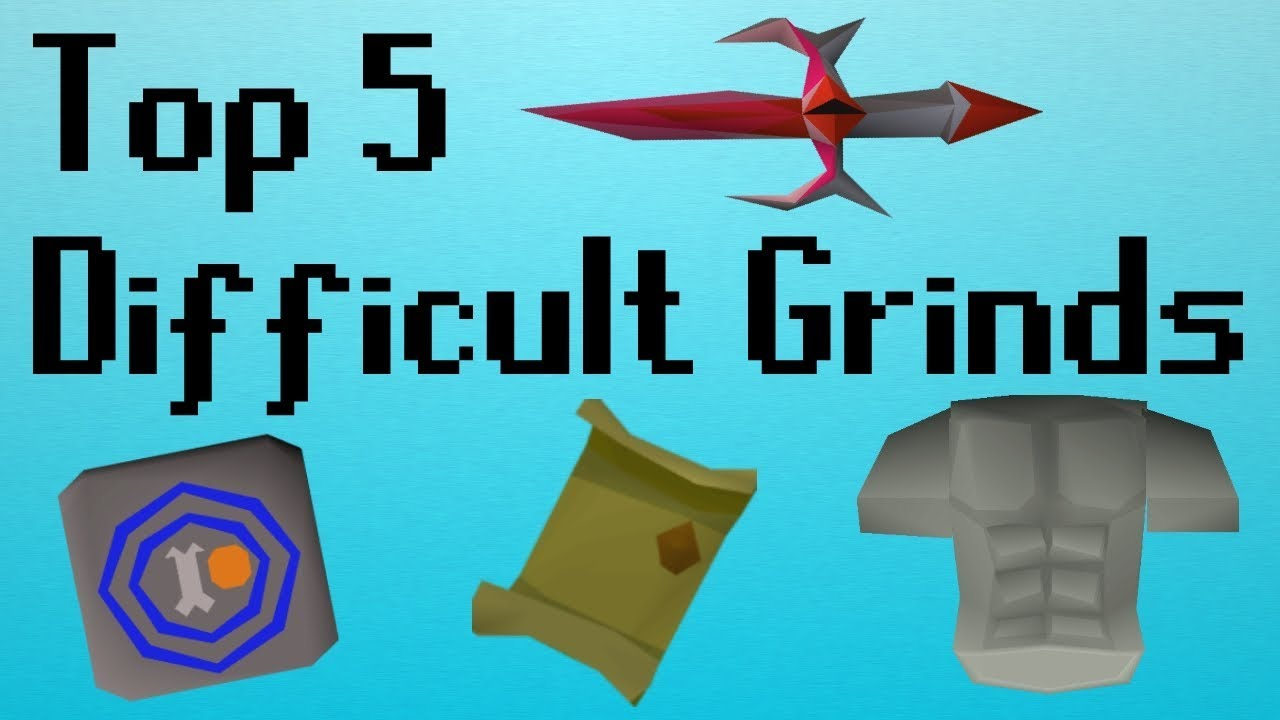[OSRS] Top 5 Difficult Grinds in OSRS