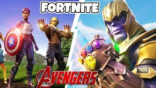 FORTNITE AVENGERS ENDGAME * NEW MARVEL SKIN * THANOS IS BACK