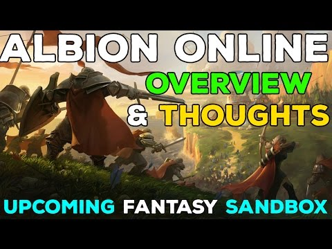 Albion Online – Full Gameplay Overview [New Sandbox MMORPG]