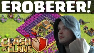 [facecam] EROBERER! || CLASH OF CLANS || Let's Play Clash of Clans [Deutsch/German HD]