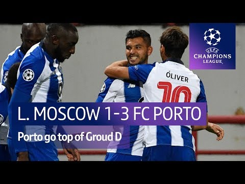Lokomotiv Moscow vs FC Porto (1-3) UEFA Champions League highlights