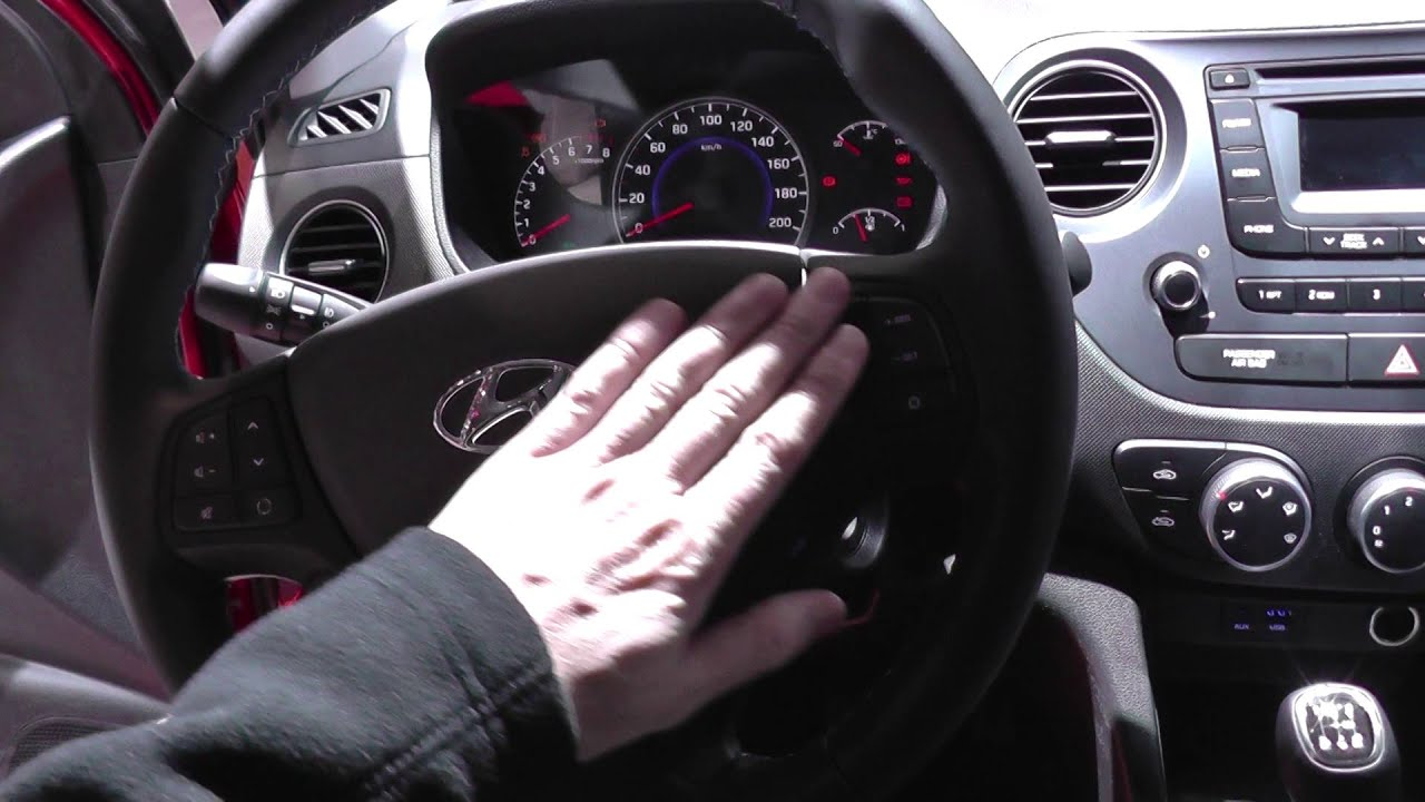 Hyundai I Mk Dash Warning Lights Interior Look Around YouTube - Car signs on dashboardcar dashboard warning lights the complete guide carbuyer