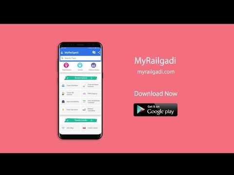 MyRailgadi - Live Train Status, PNR Status & More