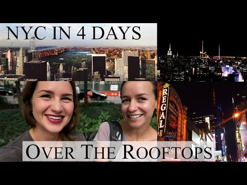 MEETING INFINITY'S SONG & OVER THE ROOFTOPS I NYC in 4 Days Vlog I ANNI LALAS