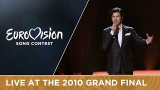 Didrik Solli Tangen   My Heart Is Yours (norway) Live 2010 Eurovision Song Contest