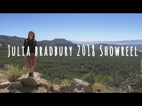Julia Bradbury  Showreel 2018