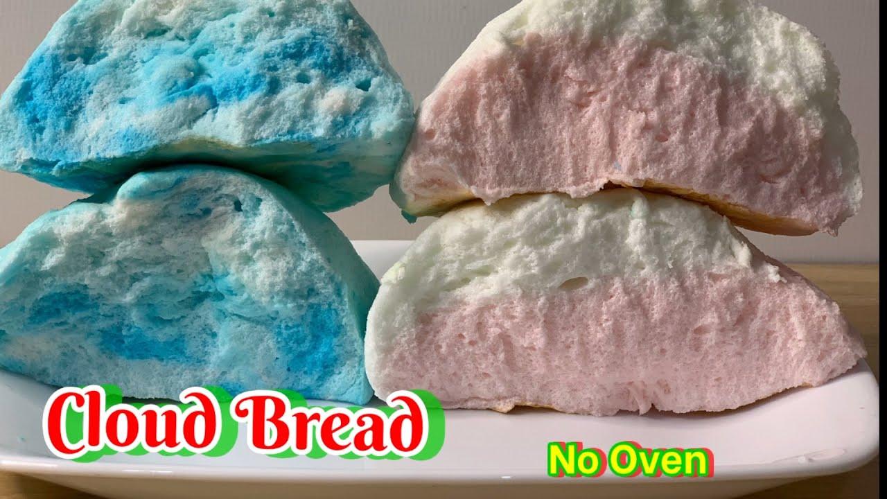 Fluffy Cloud Bread Recipe – Bánh Mì Mây Bồng Bềnh TikTok | Tran's Home