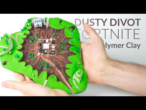 Dusty Divot (Fortnite Battle Royale) – Polymer Clay Tutorial