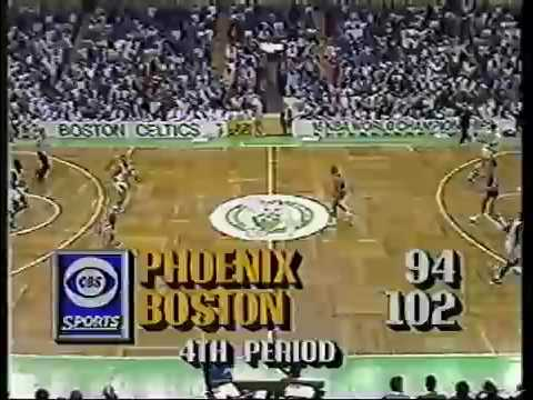 Tom Chambers Dunks On Entire Boston Celtics Team
