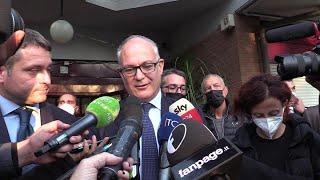 Roma, Gualtieri sceglie un centro anziani per la prima uscita da sindaco: