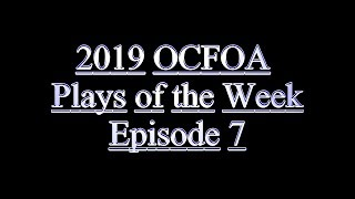2019 Plays of the Week Episode 7