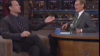 Tom Hanks Interview on Letterman 1998