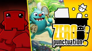 Bugsnax & Super Meat Boy Forever (Zero Punctuation) (Video Game Video Review)