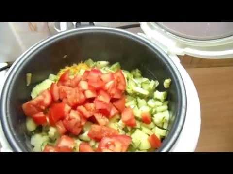 Овощи на гриле - рецепты