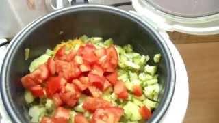 Овощное рагу в мультиварке Панасоник Panasonic видео рецепт(Видеообзор приготовления овощного рагу.Рецепт готовки,варки,нарезания продуктов овощей,времени готовки.П..., 2014-07-16T19:14:33.000Z)