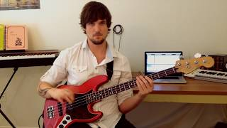 "How To Play ""Naked In The Rain"" by RHCP (Bass)"