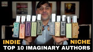 Top 10 Imaginary Authors Fragrances | Brand Overview + 3 x Short Story Collection USA Giveaway