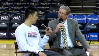 jeremy lin q at asian heritage night feb 12 2013 at oracle arena