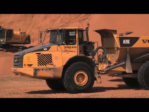 Volvo Construction Equipment helps build road through The Empty Quarter – Saudi Arabia