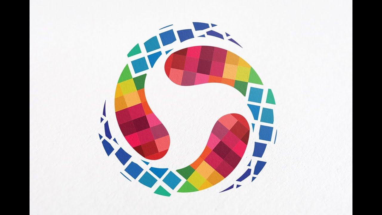 Learn How To Draw A Circular Vector Logo In Adobe Illustrator Professional Circle