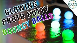 DIY Squishy Glow Balls - Bouncy Night Lights!