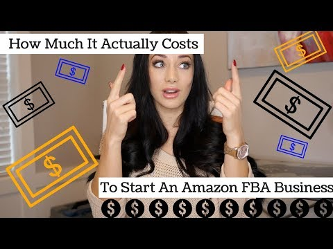 How Much Does It REALLY Cost To Start An Amazon FBA Business?