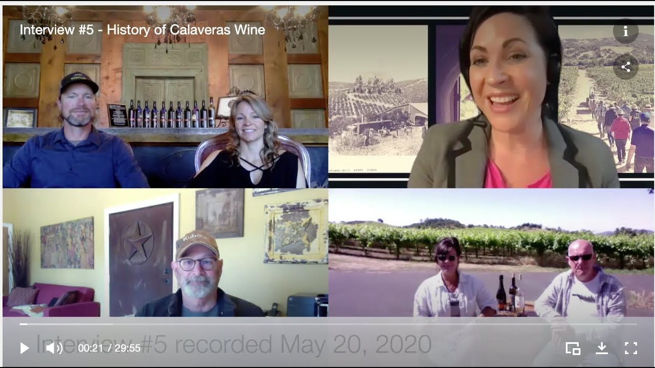 CWA History of Calaveras Wine Interview #5