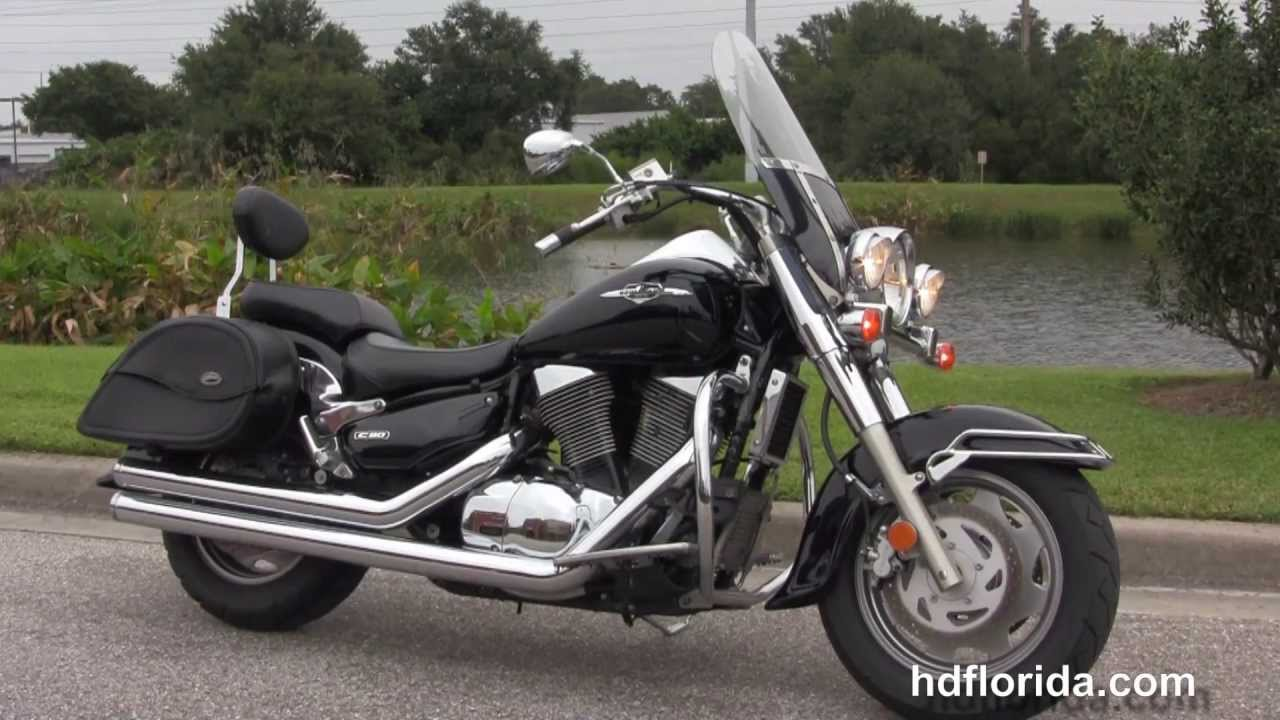 used 2006 suzuki boulevard c90 motorcycle for sale - youtube