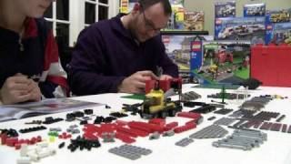 LEGO 10128 TRAIN LEVEL CROSSING