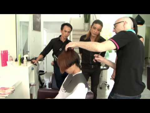 Pedro Guerrero & Concept Coiffure Training Session