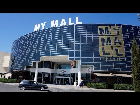 MY MALL 2018 | The Largest Mall In Limassol Cyprus