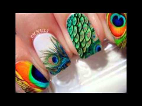 Nail Art 2016 Design For Peacock New Style And New 12 Design