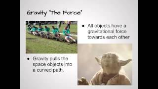 Lesson Solar System - Gravity